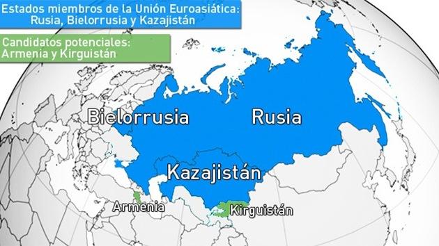 Putin firma la ley para crear la Unión Económica Euroasiática