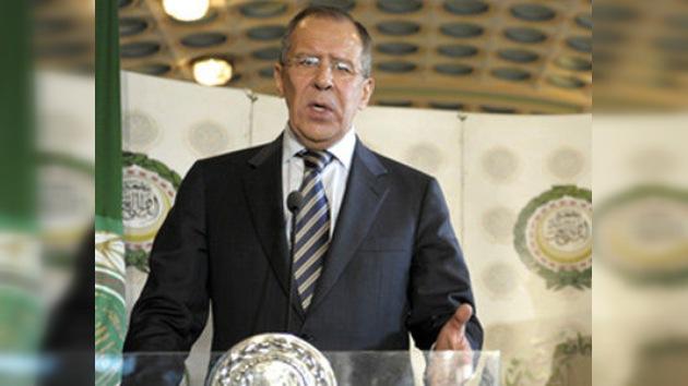 """Lavrov: """"La coalición debe recordar el objetivo de proteger a los civiles"""""""