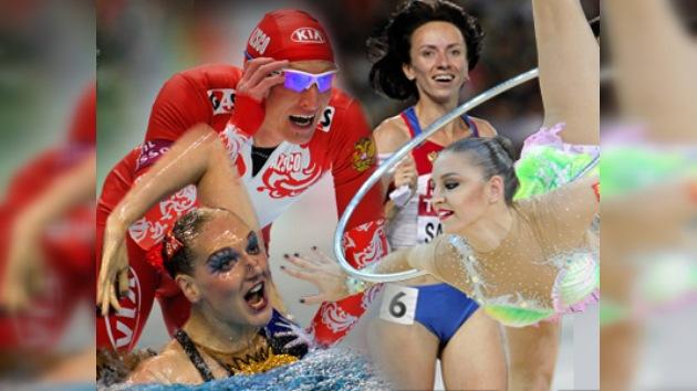 Los mejores deportistas rusos del 2011, según la prensa