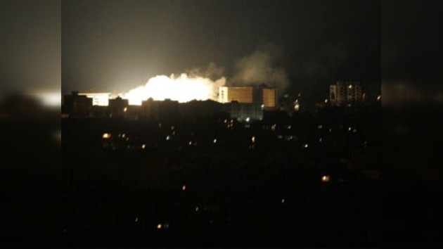 Israel contesta con misiles a un ataque desde el territorio libanés