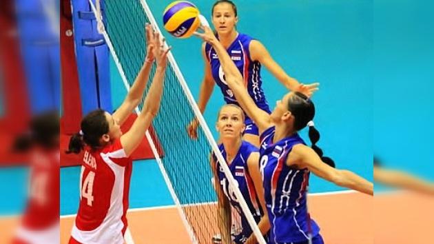 Las voleibolistas rusas se crecen y avanzan en el Gran Prix de Tailandia tras ganar a Perú