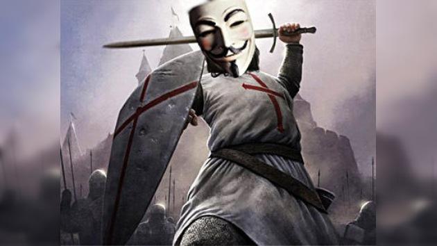 Anonymous se compromete con una 'cruzada' contra Israel