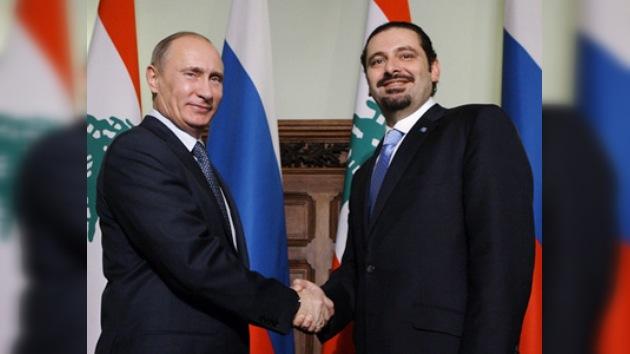 Rusia y Líbano dispuestos a cooperar en 'casi todos' los ámbitos