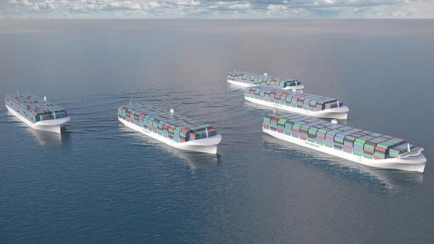 'Drones' de mar: Rolls Royce se sumerge en el desarrollo de barcos de carga no tripulados