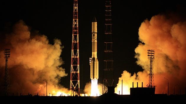 Despega un cohete ruso con un satélite mexicano