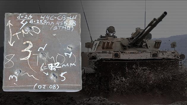 Los tanques rusos Armata se blindan con un nuevo 'acero de Damasco'