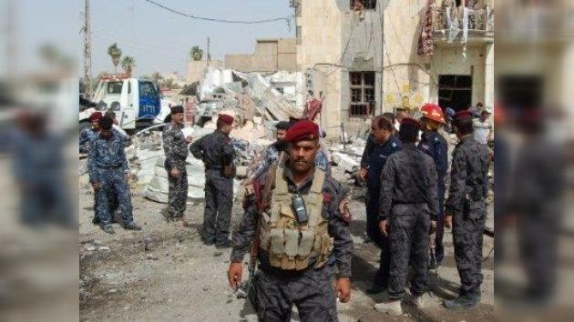 Irak: el Ejército recupera una comisaría tomada por terroristas