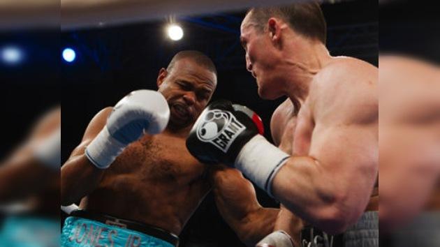 Toque latino en la velada del combate entre Lébedev y Toney