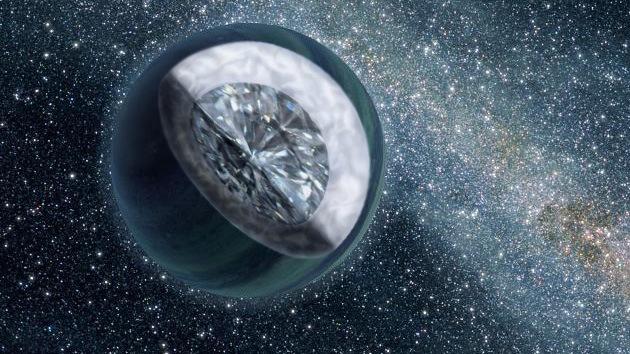 Una 'joya' en el espacio: Descubren un gigantesco planeta de diamantes