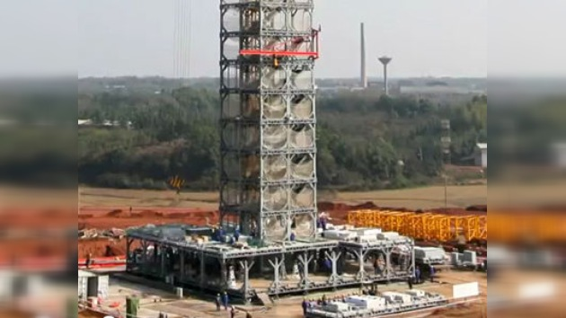 Nuevas tecnologías de construcción chinas: 30 pisos en 360 horas