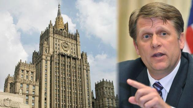 Embajador de EE. UU. está 'aprendiendo el arte de hablar' tras escandalizar a Moscú