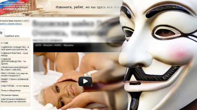 Anonymous ataca la página web de una Corte rusa en apoyo a las Pussy Riot