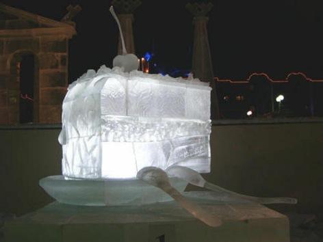 Monumento a la sal y otras obras del escultor ruso Rustam Ismagílov