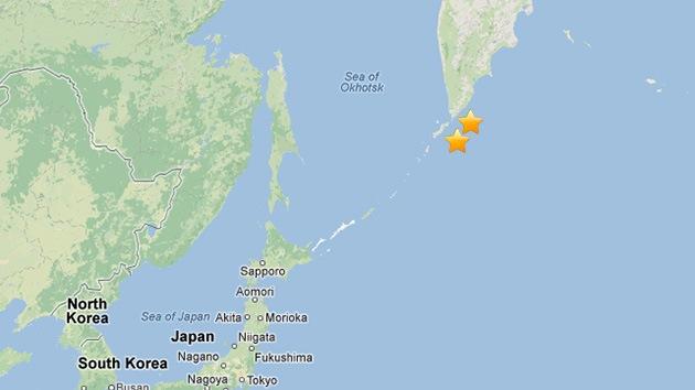 Dos sismos vuelven a sacudir la península rusa de Kamchatka