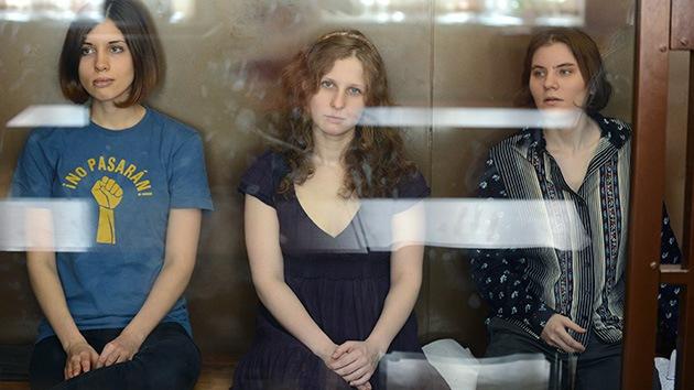 Las Pussy Riot ante la última palabra del Tribunal de Moscú