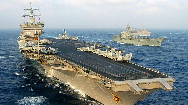 Enorme flota aliada iniciará ejercicios de desminado en el Golfo Pérsico