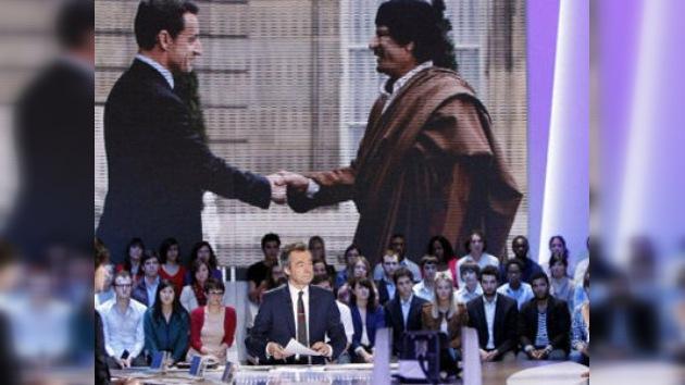 Ex primer ministro libio confirma que Gaddafi financió la campaña de Sarkozy