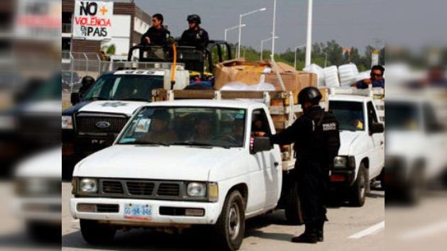 A la policía mexicana se le pone 'mal cuerpo': 8 de cada 10 agentes renunciaron desde 2007