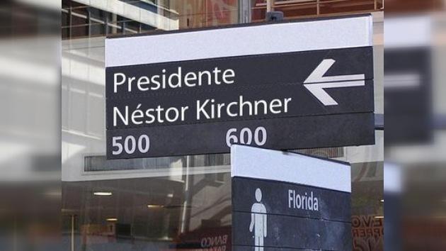 Argentina y el fervor toponímico por Néstor Kirchner