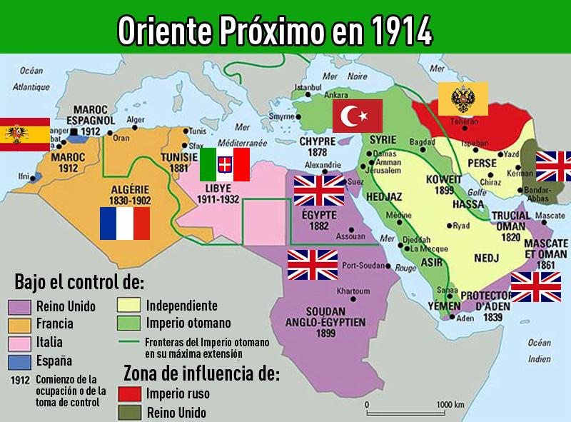 Mapas Que Explican Un Complejo Mundo Llamado Oriente Proximo Rt