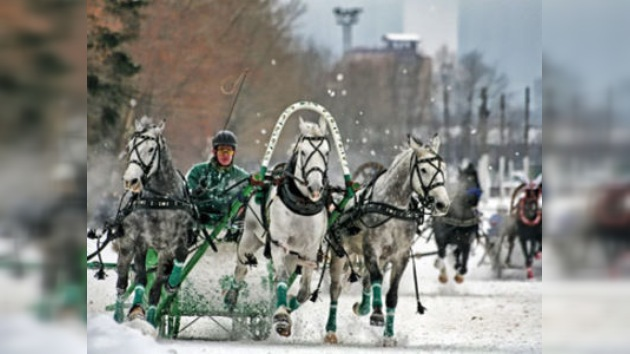 Campeonato Nacional de Troikas se celebró en Moscú