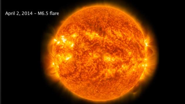 Video: La NASA capta espectaculares imágenes de un 'latigazo' solar
