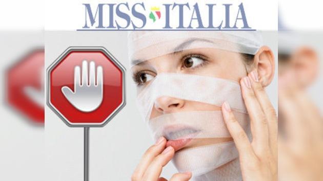 Miss Italia veta a la cirugía plástica y los 'complementos'