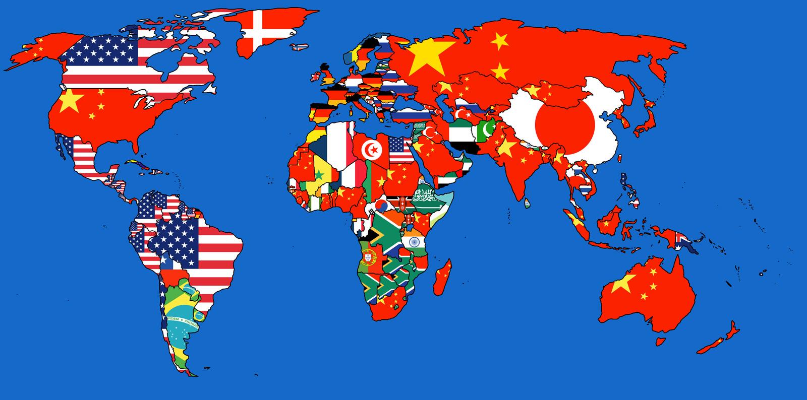 Mapa Del Mundo China.De Donde Llegan Mas Mercancias Un Mapa Revela Los Mayores Exportadores Por Pais Rt