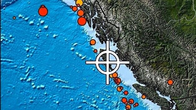 Un sismo de 7,7 grados estremece Canadá