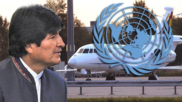 """Más de cien países de la ONU condenan el """"secuestro"""" de Evo Morales"""