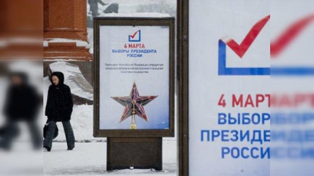 Rusia se zambulle en la jornada electoral