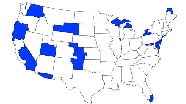 ¿Cómo sería EE.UU. si las regiones que piden independencia la consiguieran?