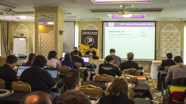 Rusia alberga a la Asamblea Internacional de Partidos Pirata