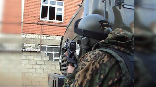 Los policías del Cáucaso Norte, diariamente en la 'línea del frente'