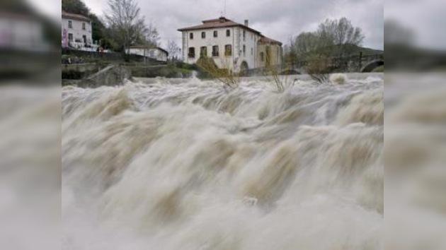 Las Islas Canarias afectadas por un temporal de lluvias