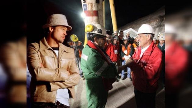 La productora de Brad Pitt planea filmar una película sobre los 33 mineros