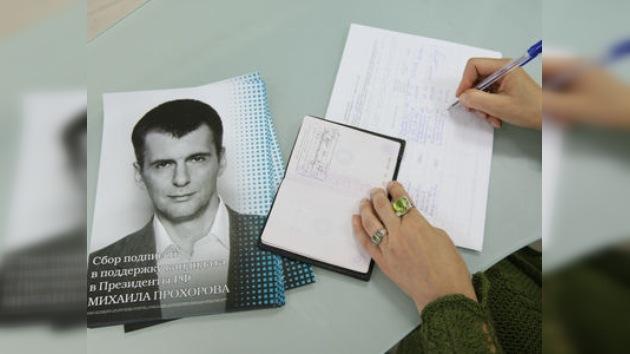 El tiempo se va evaporando para los candidatos presidenciales de Rusia