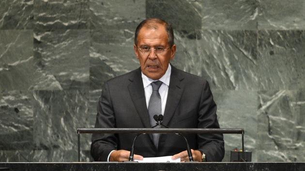 """Lavrov ante la ONU: """"Occidente empuja a Siria a la vorágine sangrienta del conflicto"""""""