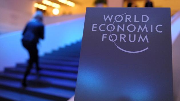Los ricos de Davos, optimistas pese a la amenaza de desigualdad y pobreza