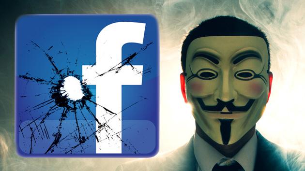 """Anonymous promete el apocalipsis de Facebook: """"Guarden sus datos porque el lunes no existirán"""""""