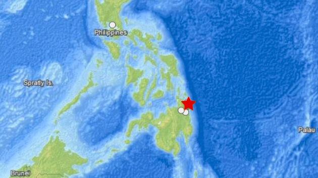 Un sismo de 6,4 grados sacude la parte oriental de Filipinas