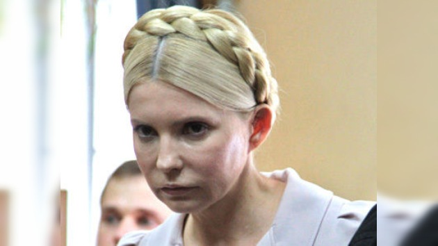 La fiscalía ucraniana pide 7 años de prisión para Timoshenko