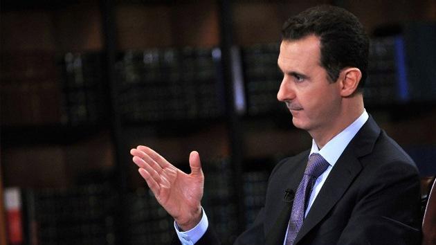 """Al Assad: """"Obama miente y Occidente confía más en Al Qaeda que en mí"""""""