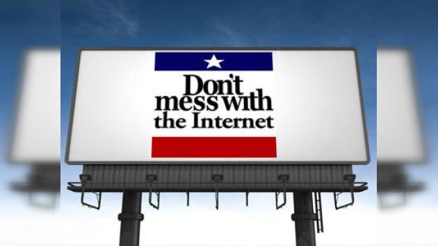 Opositores de la SOPA a su autor: 'No te metas con internet'