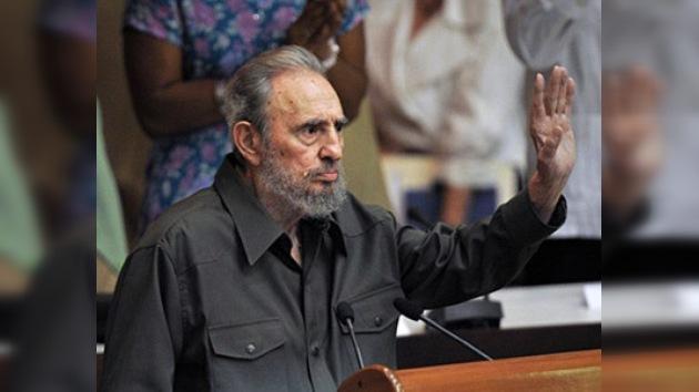 Fidel Castro apareció en la Asamblea Nacional