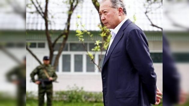 Inician causa criminal contra ex presidente kirguiso Kurmanbek Bakíev