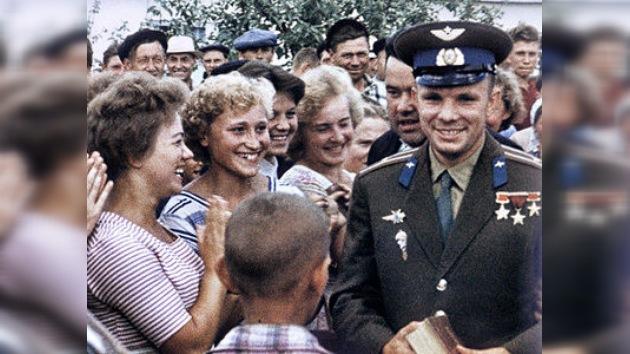 Yuri Gagarin en los recuerdos de sus colegas