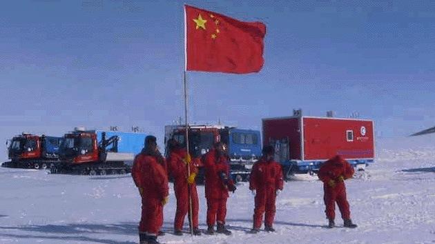 China expande su presencia en la Antártida