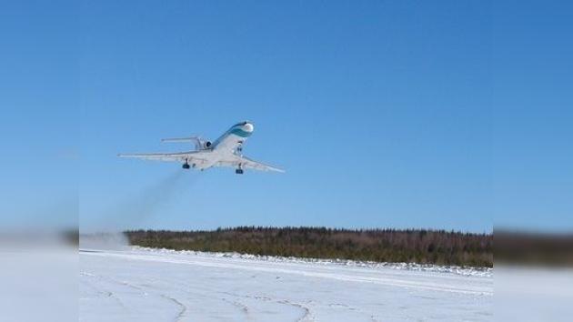 El TU-154 que realizó un aterrizaje forzoso surca de nuevo los aires