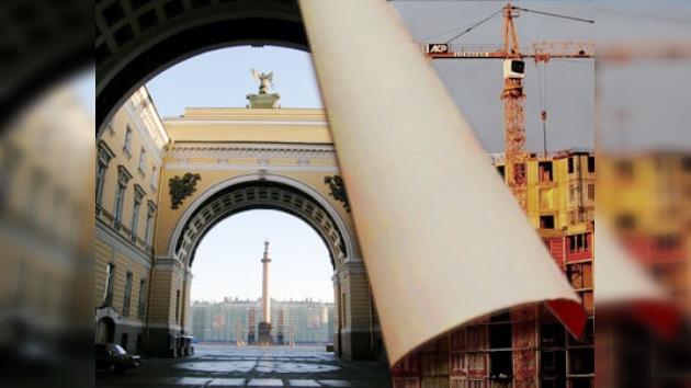 ¿Borrar San Petersburgo de la lista de ciudades históricas?